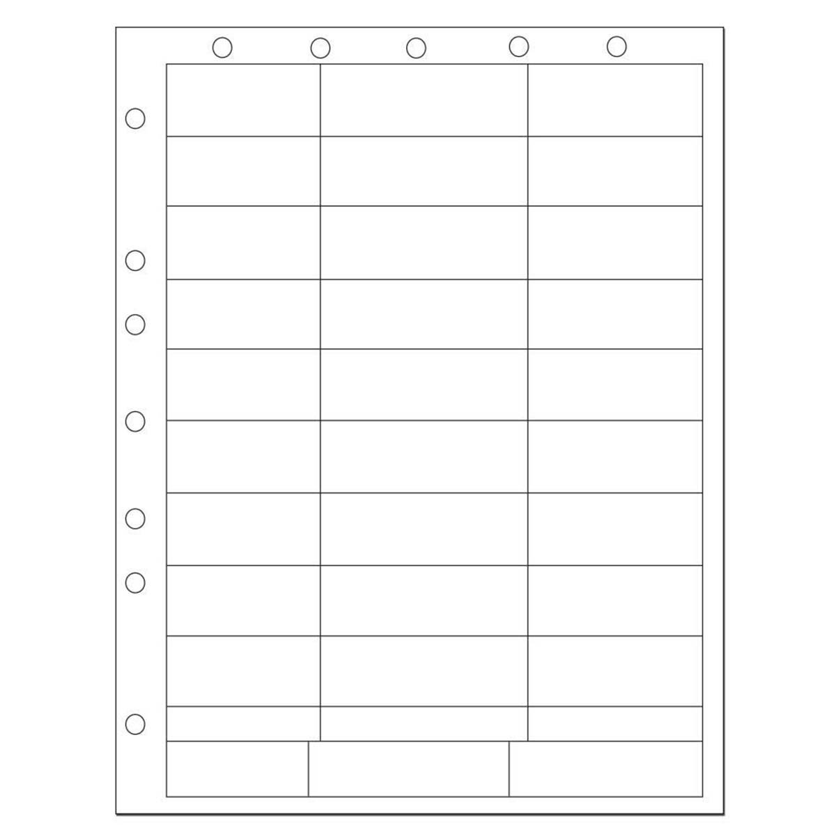 PDC Healthcare WBW71 Chart Labels Laser Portrait with Holes, Multiple Size, White (Pack of 1000)