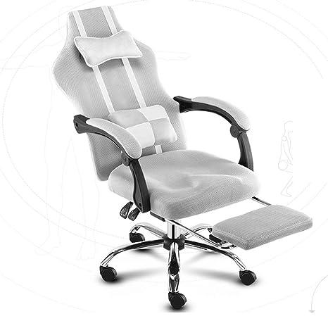 Amazon.com: Zcx Silla giratoria de oficina, silla giratoria ...
