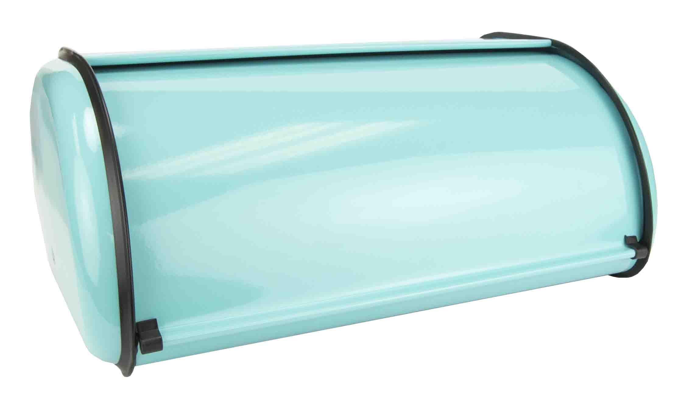 Home Basics Storage Bread Box (1, Turquoise)