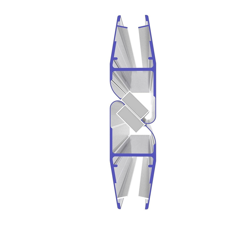 1 Set Magnetdichtung 90 Grad für 5mm, 6mm, 7mm und 8mm 8851 Glasstärke Magnetduschdichtung Duschdichtung Duschtüren… IQ-Handel