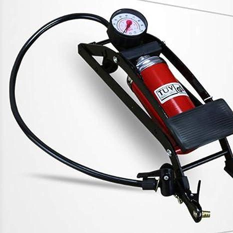 Bomba de inflado de la Bicicleta Tipo Pedal de pie Bomba de Aire de Alta presión