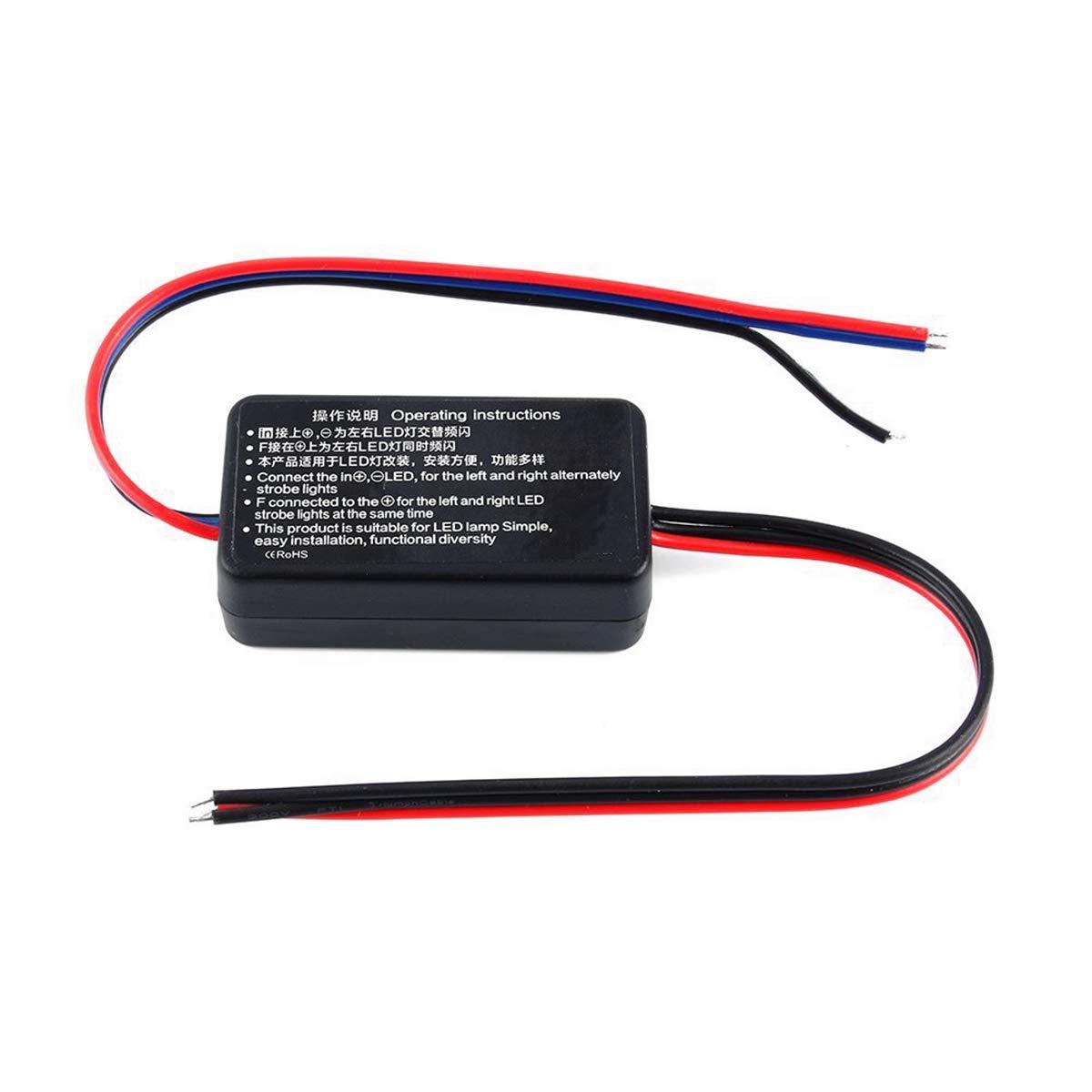 Jdmxpert Led Strobe Controller Flash Circuit Amazon Account Pinterest Box Flasher Module Universal Fit For Brake Stop Tail Light 12v Gs 100a 1 Set