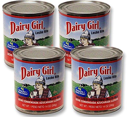 Amazon.com : Dairy Girl sweetened condensed milk 14 oz (1 Pack) : Grocery & Gourmet Food