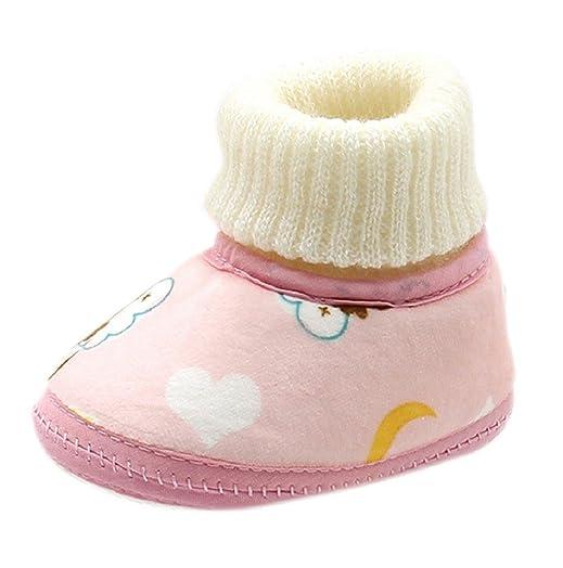 Chaussures En Coton Vovotrade Bébé Nouveau-né (taille: 11, Rose)