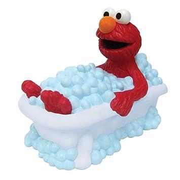 Amazon.com : Sesame Street Bath Tub Faucet Cover - Elmo Infant Baby ...