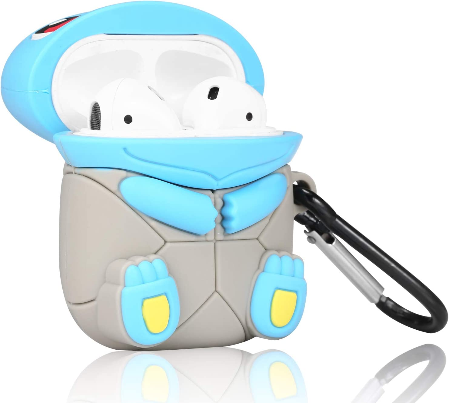 Cute Cartoon Fun Funny 3D Kids Teens Boys Cover Cool Stylish Fashion Soft Silicone Character Shockproof Air pods Skin Cases for Airpod 1/&2 Joyleop Game Controller Case Compatible with Airpods 1//2