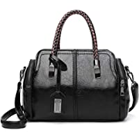 Ohyoulive Women Retro PU Leather Shoulder Bag Lady Large Handbag Crossbody Bag Quality And Durable, Better Ventilation Not Easy To Deformation Anti Wear, Anti Scratch, Anti Tear, Breathable, Soft Touches Feeling