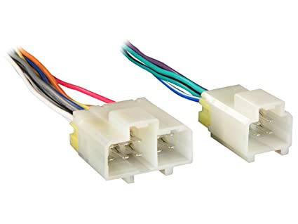 Metra 70-1763 Wiring Harness for Select 1984-1994 Nissan and Infiniti on