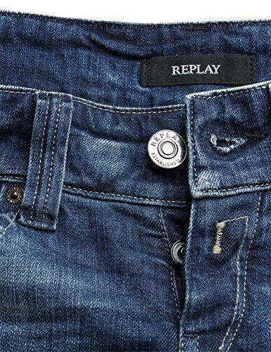 Blu Newswenfani Replay Denim blue Jeans Donna wttdqr0