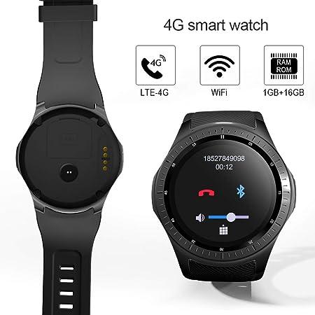 HU-Sports WatchReloj Inteligente, Impermeable 4G Bluetooth ...