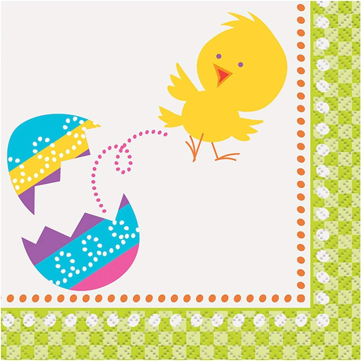 Chick Easter Beverage Napkins, 16ct