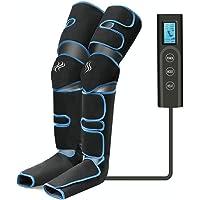 Masajeador de piernas, compresión de aire para piernas con controlador de mano 6 modos 3…