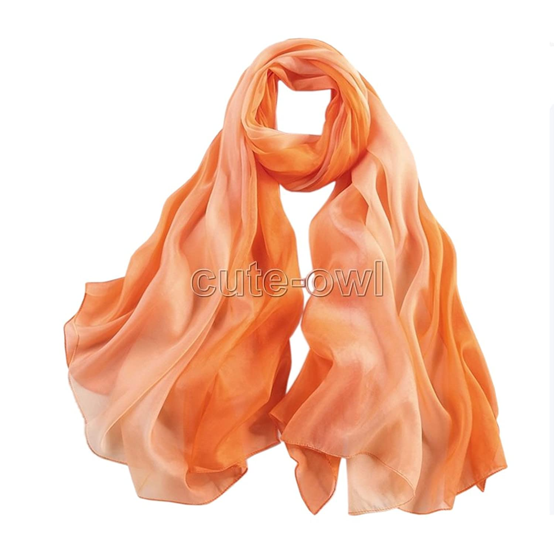 New Colorful Long Soft Women Fashion Chiffon Scarf Wrap Shawl Stole Scarves Gift #2