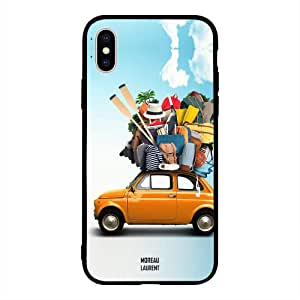 iPhone X / 10 Case Cover Adventure Car Moreau Laurent Premium Design Phone Covers