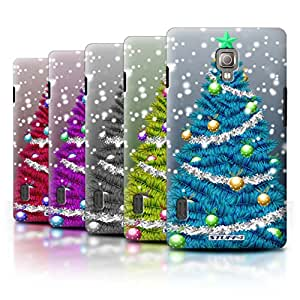 STUFF4 Phone Case / Cover for LG Optimus L7 II/P710 / Pack 5pcs / Christmas Tree Collection