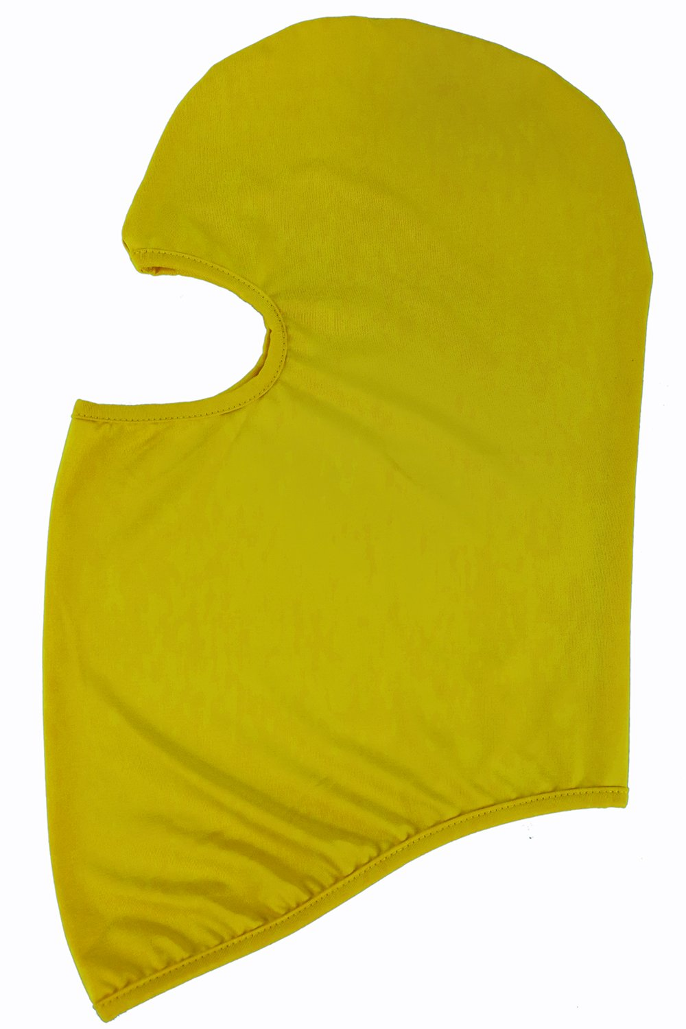 NewNow Candy Color Ultra Thin Ski Face Mask Under A Bike/Football Helmet -Balaclava (Yellow) by NewNow (Image #2)