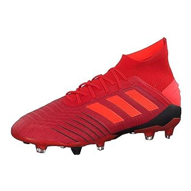 43790d5d3a937 adidas Herren Predator 19.1 Fg Fußballschuhe Mehrfarbig  (Rojact Rojsol Negbás 000) 44