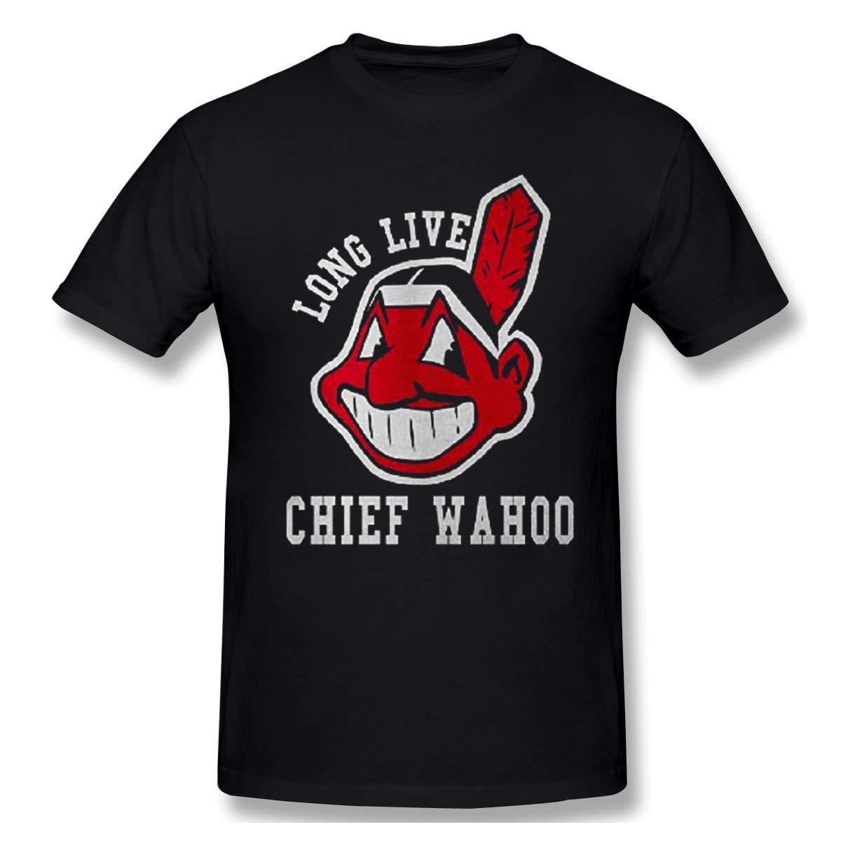 16e7f8e0 Amazon.com: Sofieya Long-Live-Chief-Wahoo T-Shirt Unisesx Men Women Youth  Cotton Tee: Clothing