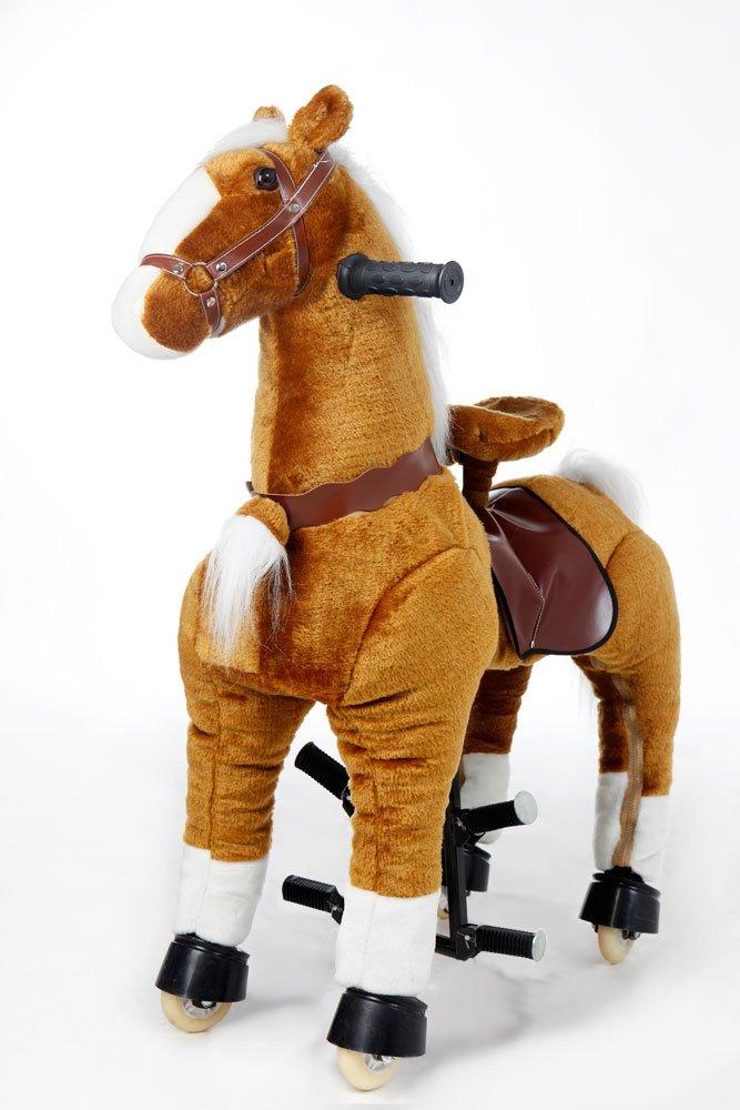 #Spielzeug-Pferd Galoppo® zum Reiten braun#