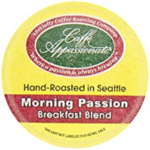 Caffe Appassionato Coffee for Keurig K-Cup Brewers, Morning Passion, 12 Count