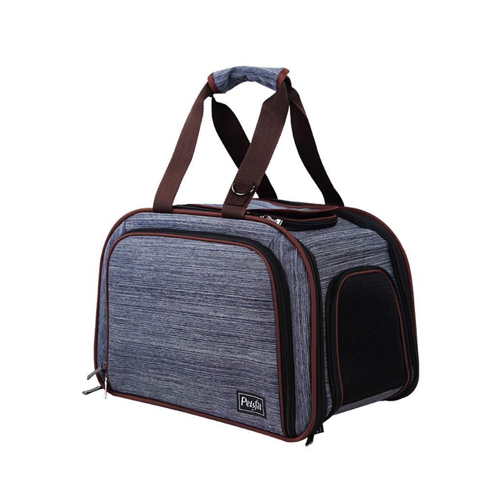 Huangyingui Pet Handbag, Go Out Portable Dog Bag Pet Travel Bag Cat Cage Pet Bag Dog Backpack