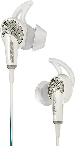 Bose QuietComfort 20 Acoustic Noise Cancelling Headphones, Apple Devices, White