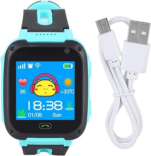 Cocoarm Niños Smartwatch, Phone Touch Localizador GPS Reloj Anti ...