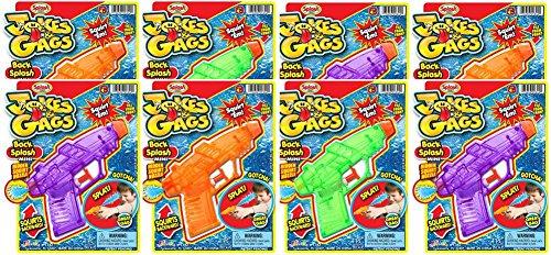 Ja-Ru Jokes & Gags Back Splash Mini Bundle Pack (Gun Splash)