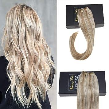 Amazon Com Sunny Honey Blonde With Bleach Blonde Highlight