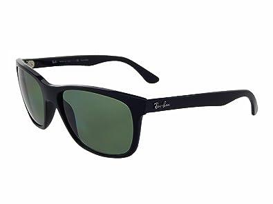 4cc2e9b30c germany new ray ban rb4181 601 9a black polar green 57mm sunglasses 45fee  e11a4
