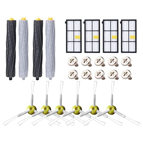 Kit de Accesorios para iRobot Roomba Recambios Roomba Series 800 805 850 860 865 866 870
