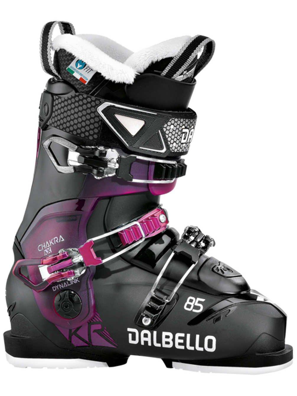 DalbelloレディースChakra AX 85スキーブーツ2018ブラック/ Fucsia 240   B076FH8K66