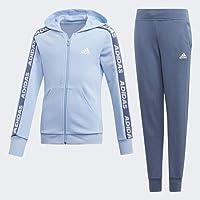 adidas Yg Hood Cot TS Chándal, Niñas, Azul