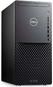 Dell XPS 8940 Tower Desktop PC, Octa-core 10th Gen Intel i7-10700 2.9GHz Processor, 16GB DDR4 Memory, 512GB PCIe M.2 SSD +1TB SATA 7200 RPM HDD, DVD-RW Drive, Windows 10 (Renewed)