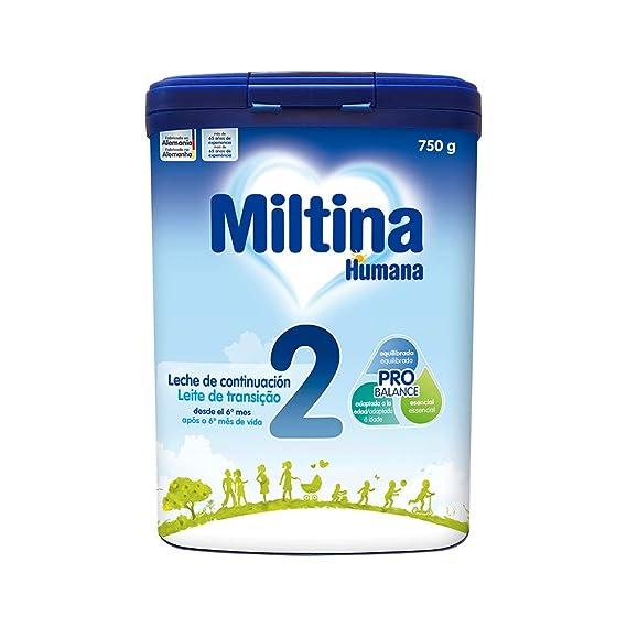 MILTINA 2 PROBALANCE, leche de continuación a partir de 6to mes,750g