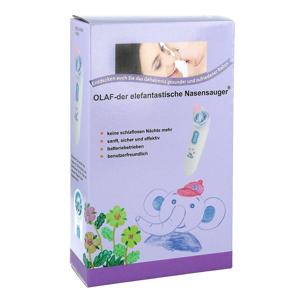 ELEKTRISCHER Nasensauger 1 St: Amazon.de: Drogerie & Körperpflege