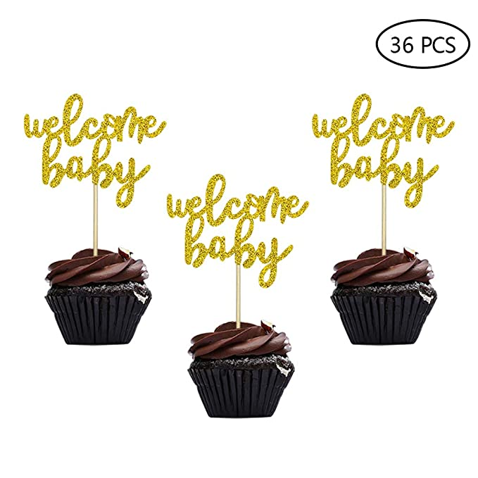 24//48PCS Christmas Cake Wrappers Toppers Cupcake Party Decor Picks Set GL