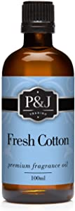 Fresh Cotton Fragrance Oil - Premium Grade Scented Oil - 100ml/3.3oz