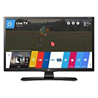 TV Monitor 24 Polegadas Smart WIFI LED HD HDMI USB - 24M49S-PS, LG