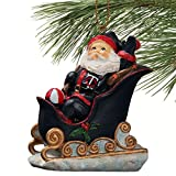 MLB Minnesota Twins Santa's Sleigh Christmas Ornament