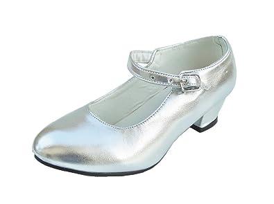 b83d6241b615b1 Chaussures Escarpin Ballerine de Danse Flamenco Or ou Argent: Amazon.fr:  Chaussures et Sacs