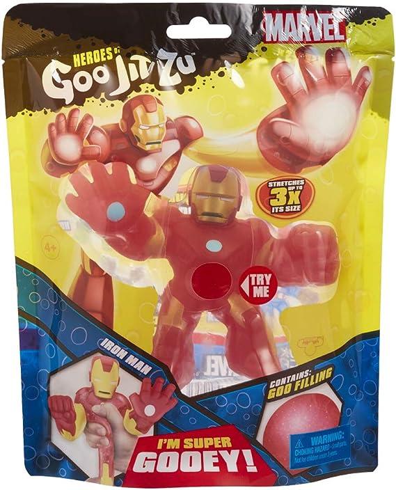Heroes of Goo JIT Zu - Marvel Iron Man (Bandai CO41056): Amazon.es: Juguetes y juegos