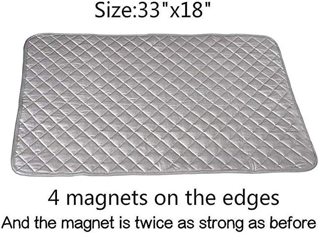 resistente al calore Asse da stiro con calamita tovaglia da tavolo riflettente al calore per asciugatrice 48 /× 85 cm copriasse da stiro magnetico