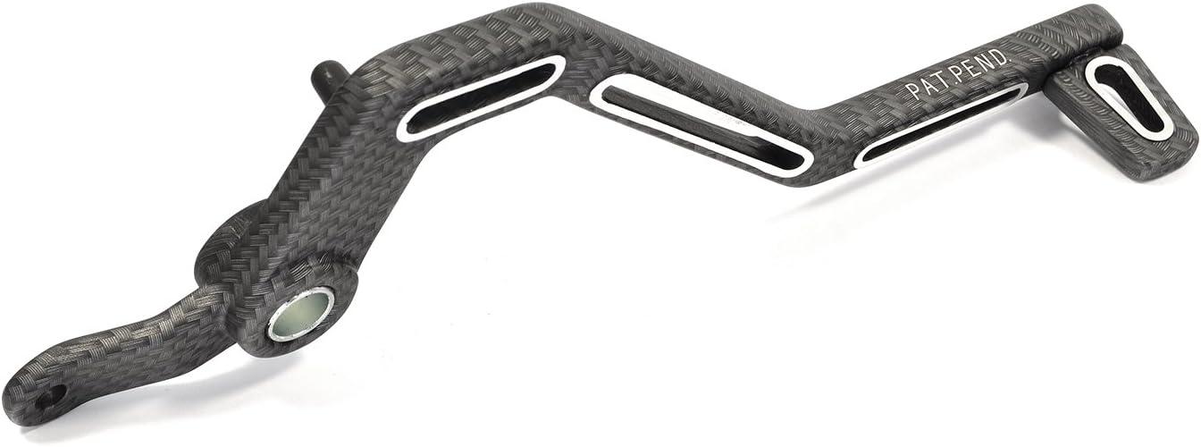 Pedal de Freno Aluminio Aspecto de Carbono para Mina Relli Am Racer