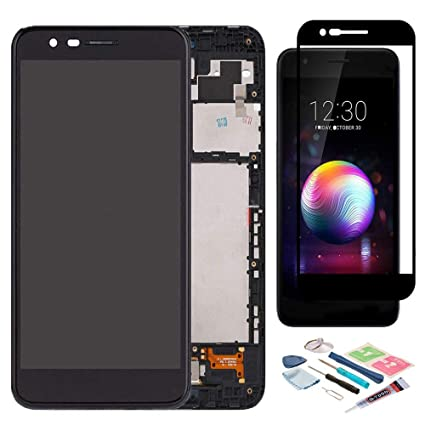 XR MARKET Compatible LG K30 Screen Replacement, LCD Display Touch Screen  Digitizer Assembly Part for LG K10 2018 X410 LMX410 LMT410TK + 100% Full