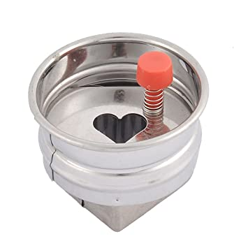 Amazon.com: DealMux Metal Frame Heart Shaped Primavera Casa Cozinha Bolo Cookie Cutter Mold Mold: Kitchen & Dining