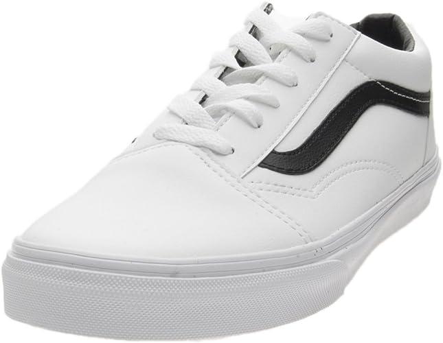 vans blanche et noir femme