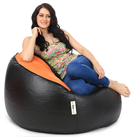 Can Mudda Bean Bag Chair Without Beans Orange
