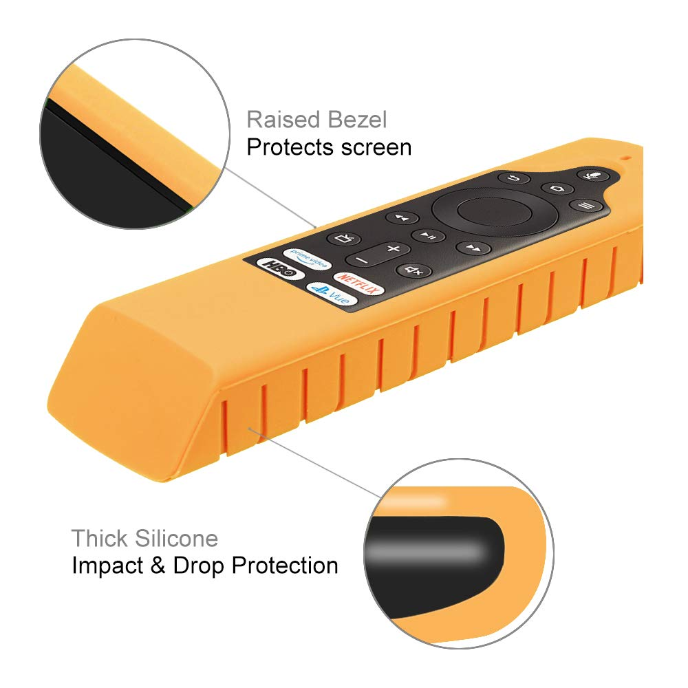 Details about For Insignia / Toshiba 4K TV / Element TV (Fire TV Edition)  Remote Silicone Case