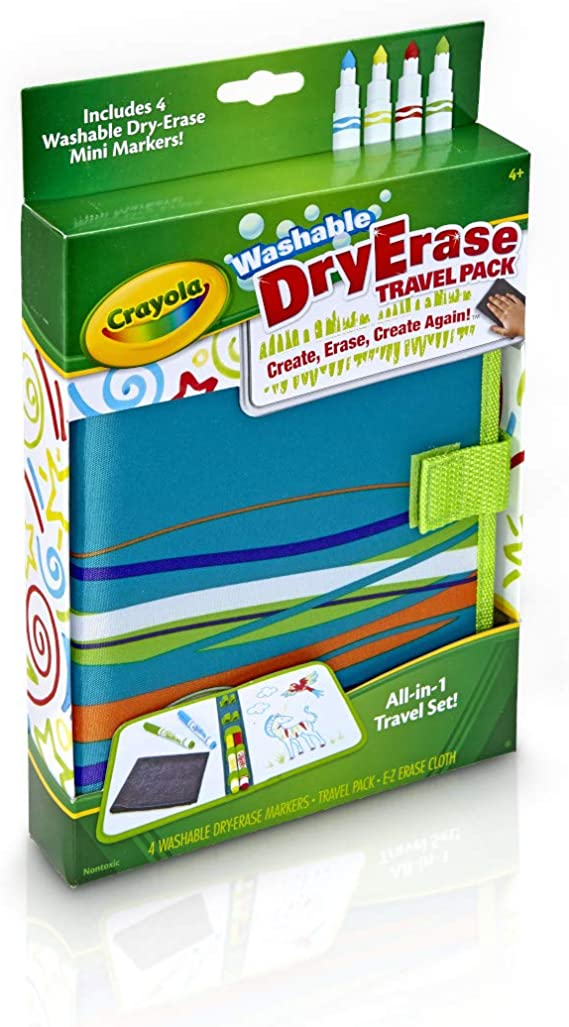 Crayola Dry-Erase Travel Pack by Crayola: Amazon.es: Juguetes y juegos